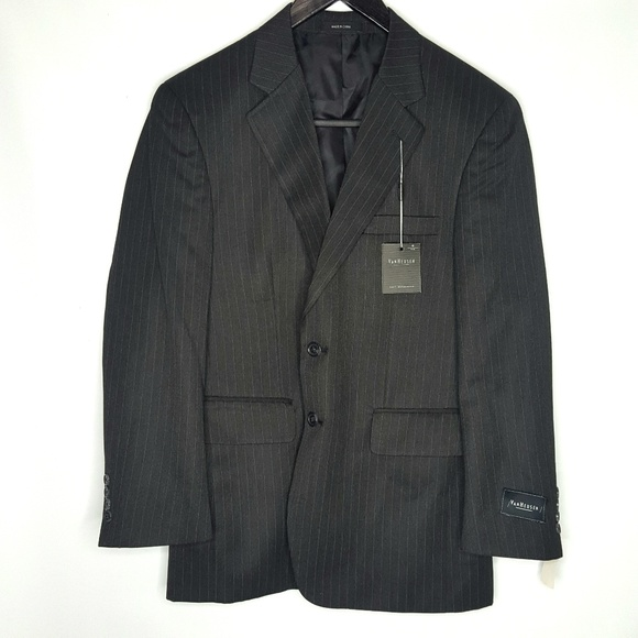 Van Heusen Other - Van Heusen Dark Charcoal Blazer 40S